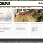 Decking by design in the North West UK
